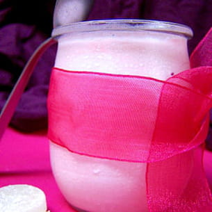 yaourts à la fraise