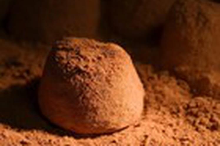 Truffes au chocolat sans oeufs