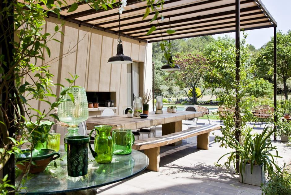 Une terrasse comme une salle à manger