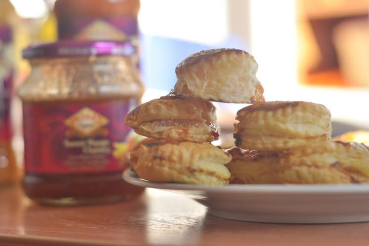 Mini-feuilletés apéritifs au chutney de mangue
