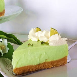 key lime pie (cheesecake au citron vert meringué)
