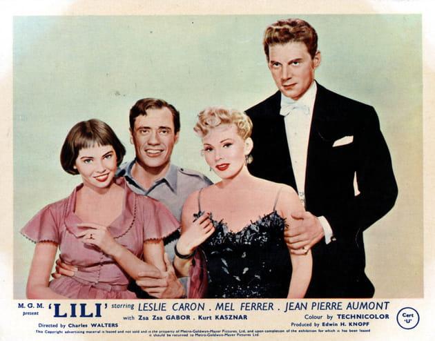 """A l'affiche du film """"Lili"""""""