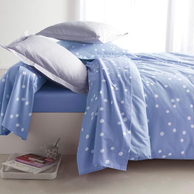 La parure de lit à pois