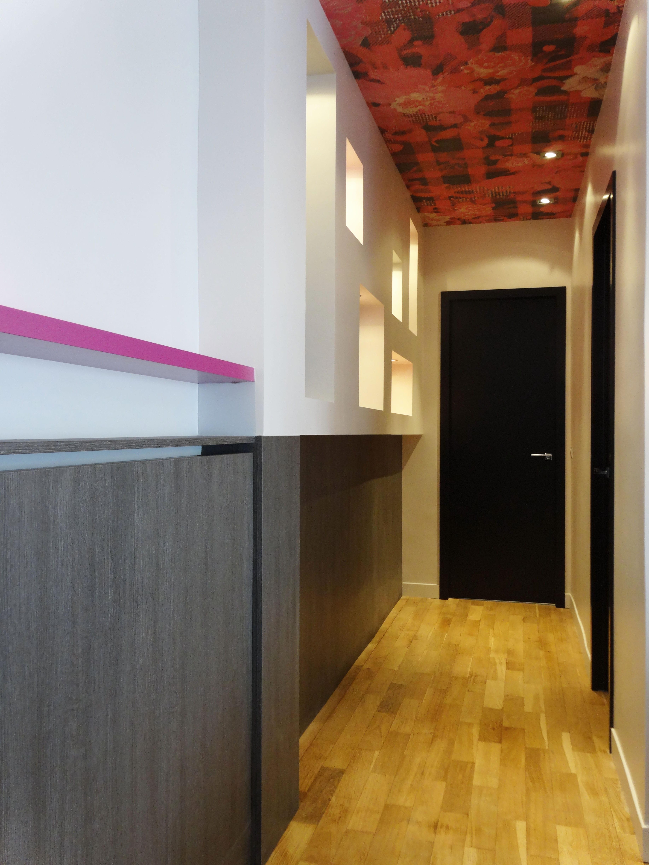 couloir troit d co fashion designs. Black Bedroom Furniture Sets. Home Design Ideas