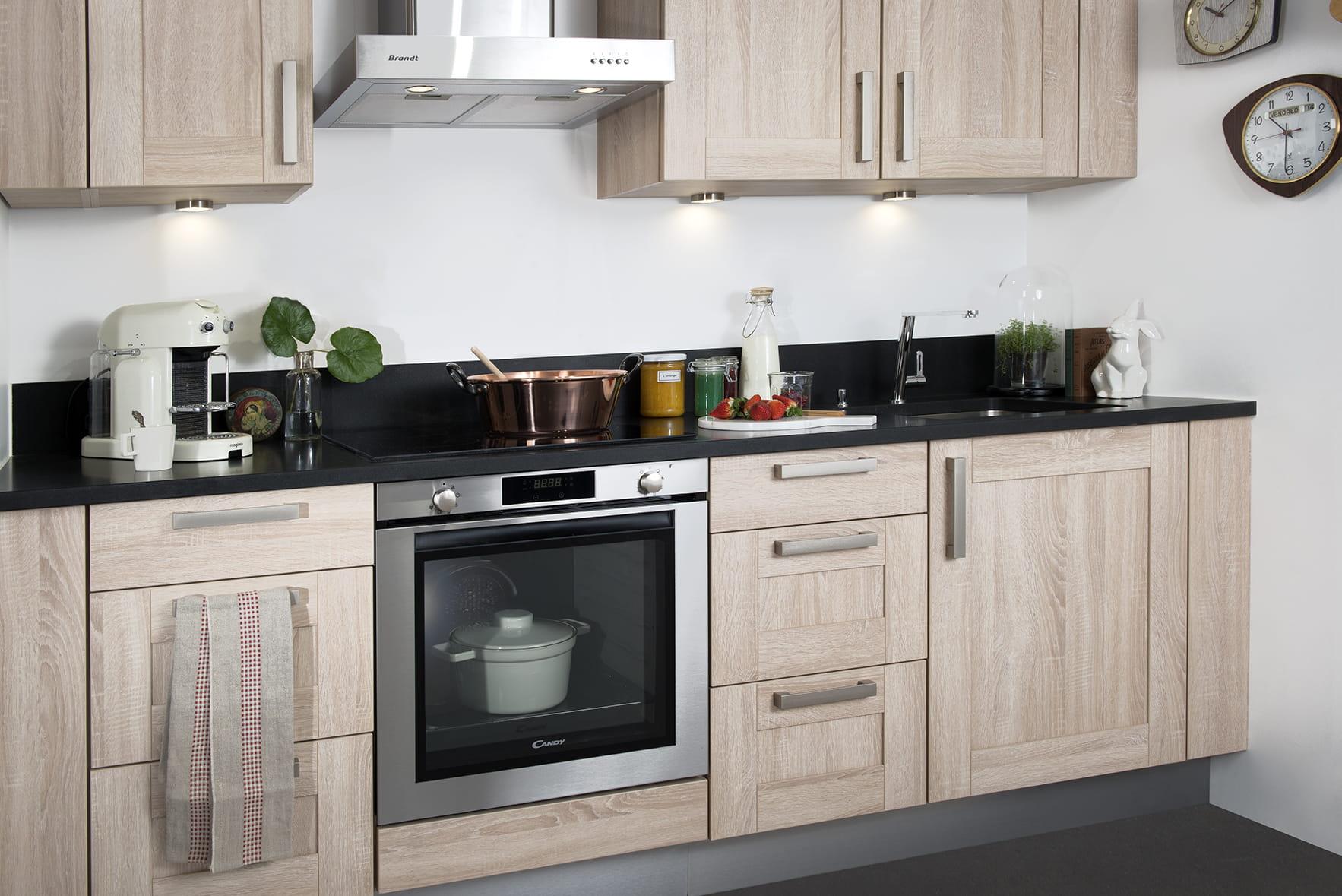 cr dence cuisine florentine de darty. Black Bedroom Furniture Sets. Home Design Ideas