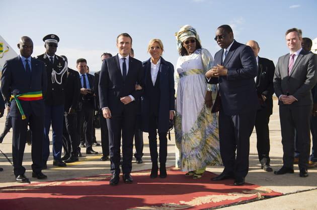 Avec leurs homologues sénégalais