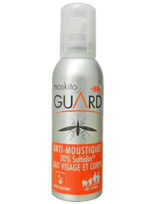 moskito guard en spray.