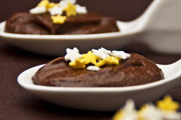 Mousse au chocolat et sa touche de fleur d'oranger