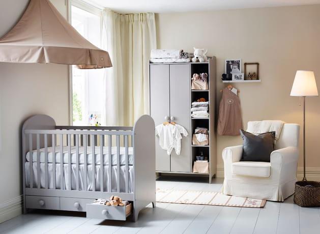 Chambre de bébé par IKEA