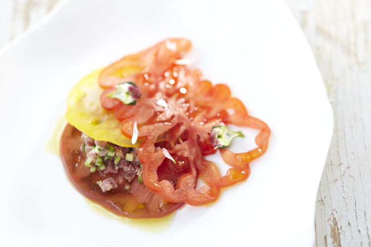 Ravioles de tomates