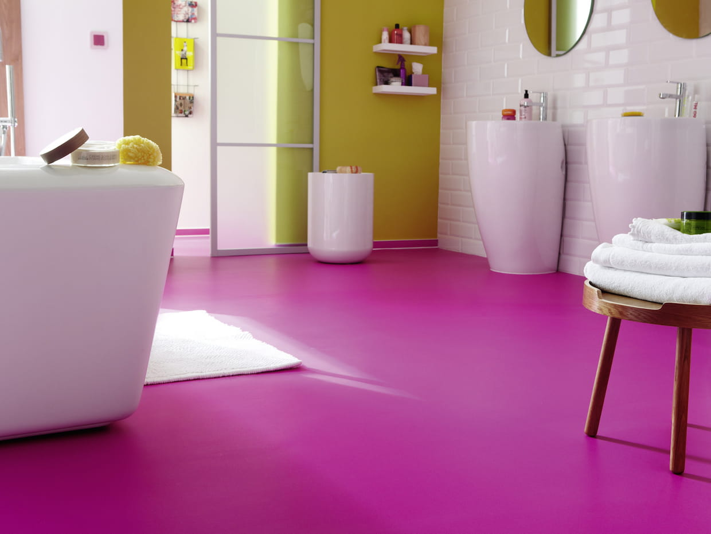le sol en stratifi color. Black Bedroom Furniture Sets. Home Design Ideas