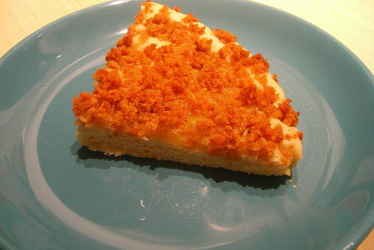 Gâteau citron, streussel de pain d'épice