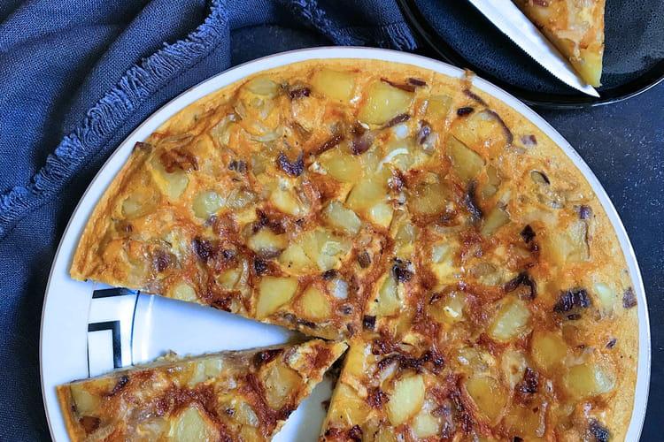 Tortilla pommes de terre et coppa