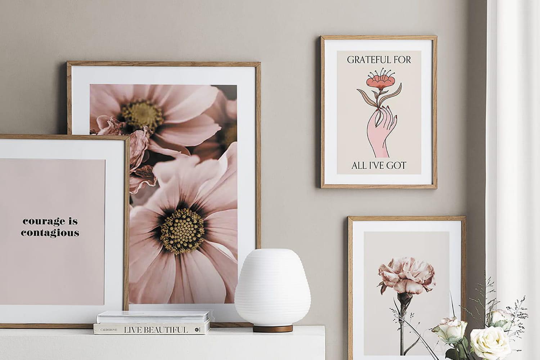 Déco murale dans le salon: idées et astuces originales