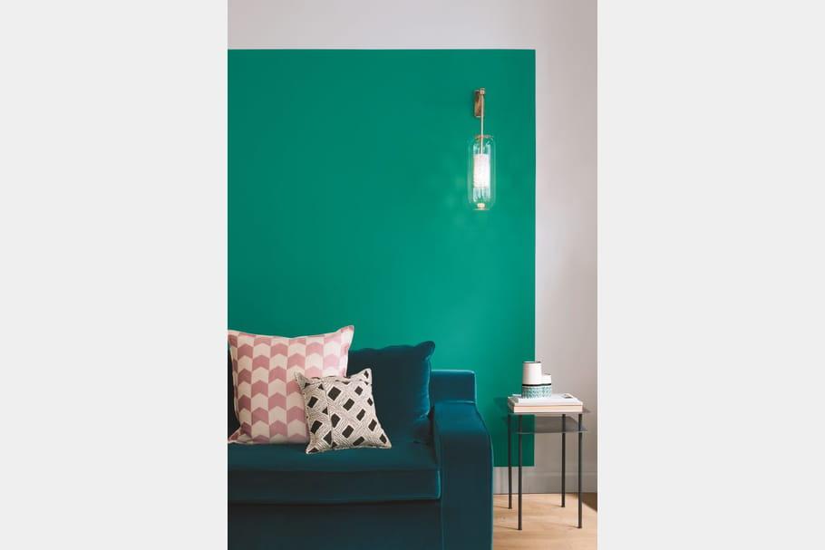 peinture bleu sarah par sarah lavoine pour ressource. Black Bedroom Furniture Sets. Home Design Ideas