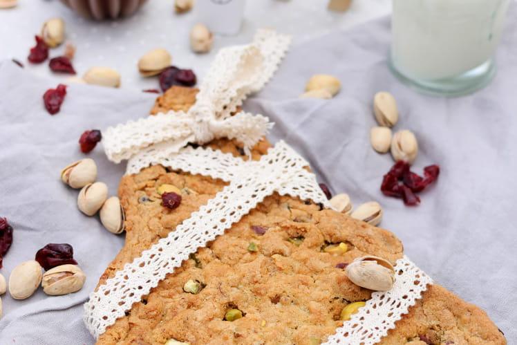 Cookie géant aux pistaches