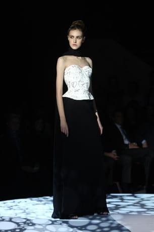 le défilé frank sorbier haute couture printemps-été 2011