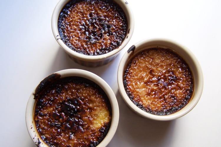 Crème brûlée à la vanille et cassonade