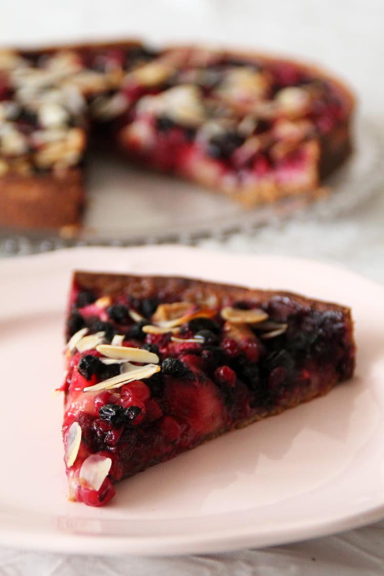 Recette de tarte aux pommes poires et fruits rouges la - Maison de la pomme et de la poire ...