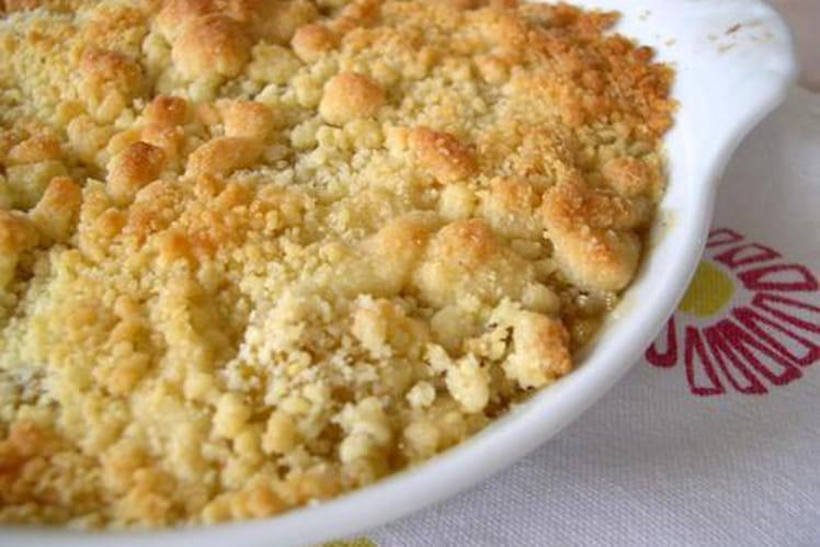 Crumble aux pommes tout simple : la meilleure recette !