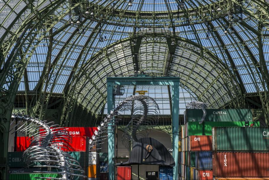 Monumenta 2016 : le Grand Palais s'offre un serpent chinois