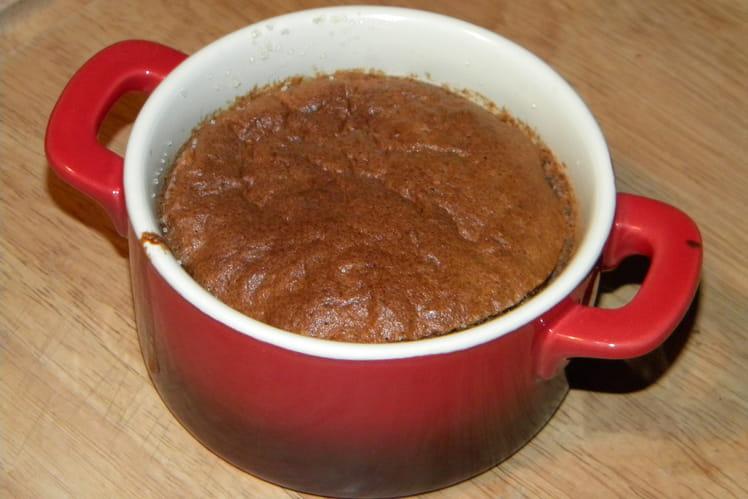 Soufflé au chocolat au lait