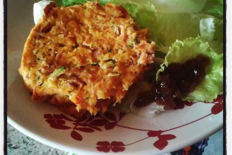 Cake au thon courgettes emmenthal et curry