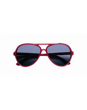 les lunettes rouges de monoprix