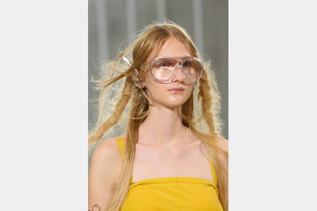Les lunettes du défilé Maison Margiela