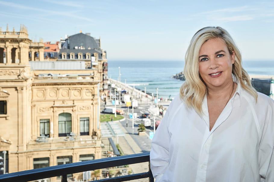 Hélène Darroze et son restaurant éphémère de San-Sebastian