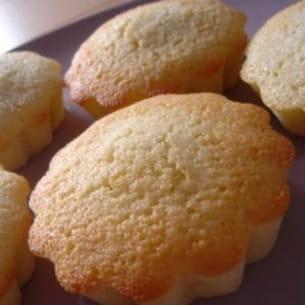 madeleines express aux amandes