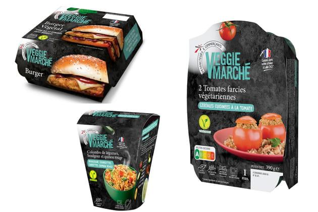 Les produits végétariens de Intermarché