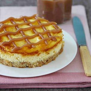 cheesecake aux sablés des prés et confiture de châtaignes