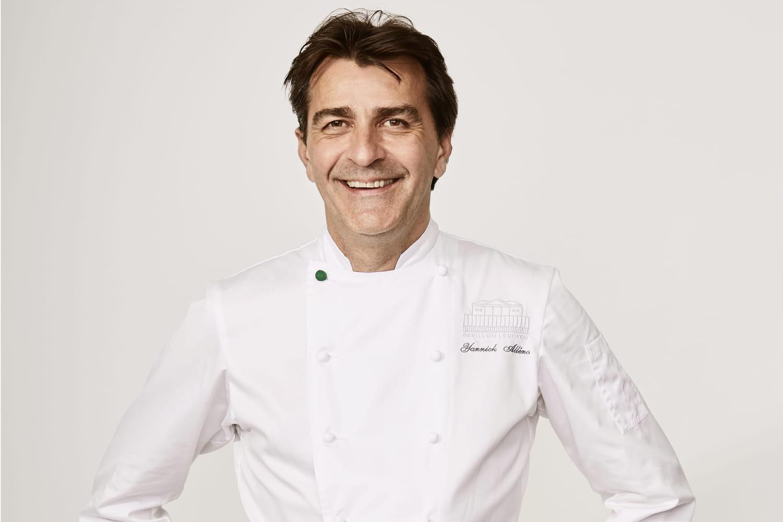 Yannick Alléno s'invite à Monte-Carlo et Saint-Emilion (biographie)