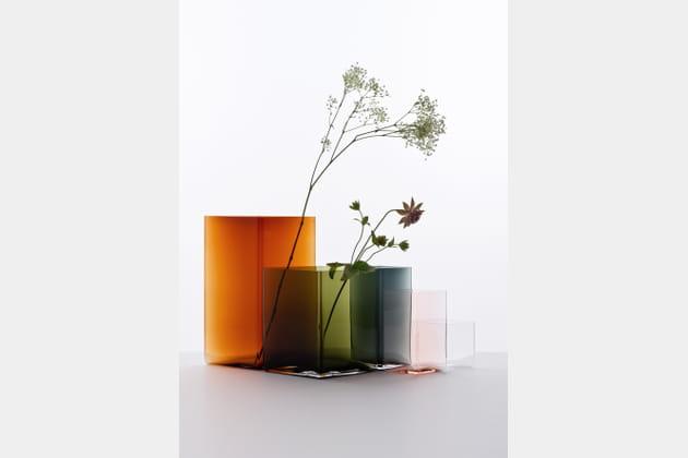 Vase Ruutu par Ronan & Erwan Bouroullec chez Iittala