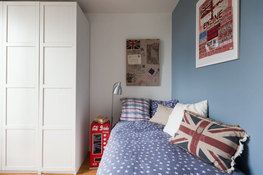 Style british for Chambre style british