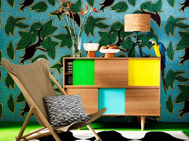 Buffet en bois massif par IKEA