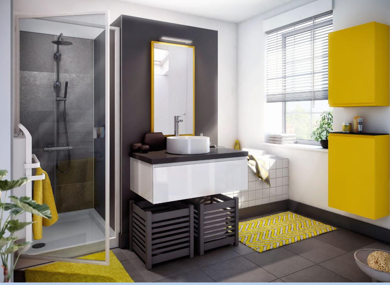 Salle de bain pure par cuisinella - Cuisinella salle de bain prix ...