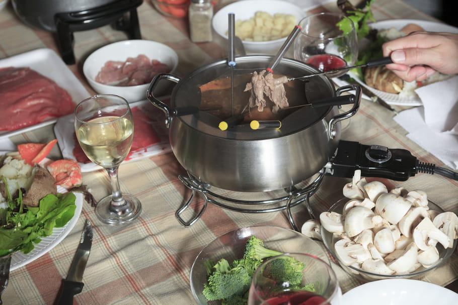 Quel légume peut accompagner une fondue bourguignonne ?