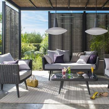 accessoire pour pergola. Black Bedroom Furniture Sets. Home Design Ideas