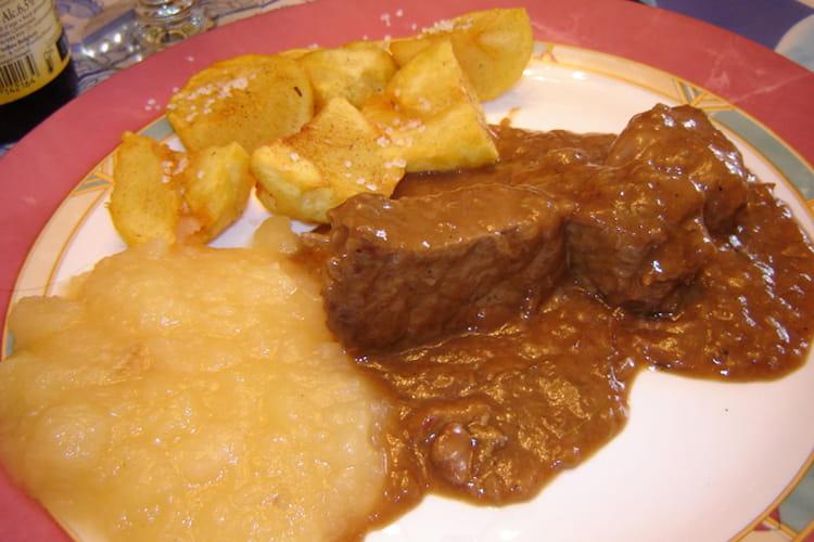 Carbonade flamande au bœuf
