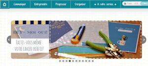 capture écran de la boutique du vide-atelier des créatives