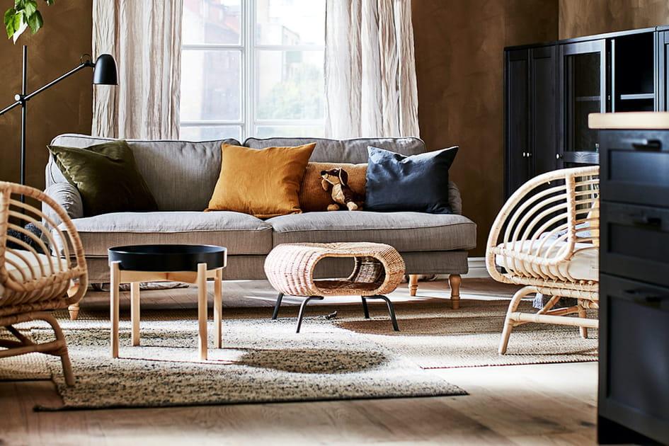 Canapé Ikea traditionnel