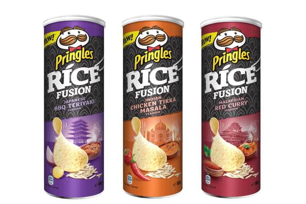 La gamme Rice Fusion de Pringles