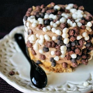 cheesecake au chocolat au lait