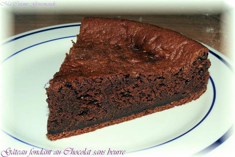 Fondant au chocolat sans beurre - Gateau au chocolat sans four ...