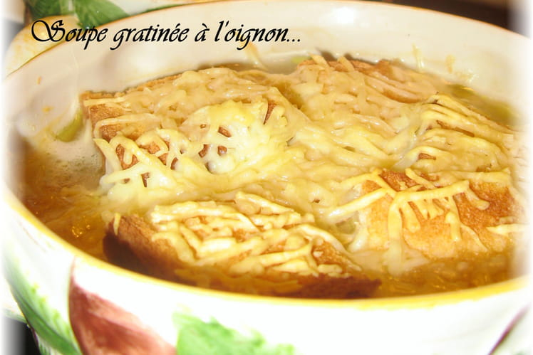 Soupe gratinée à l'oignon de grand-mère