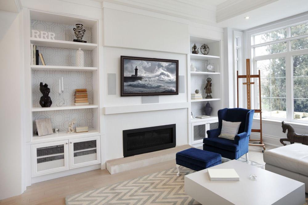 Beautiful Decoration Salon Ecran Plat Tapis Rouge Images ...
