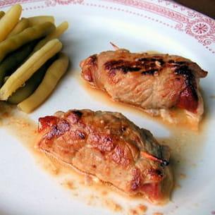 piccatas de veau à la tomme et au chorizo