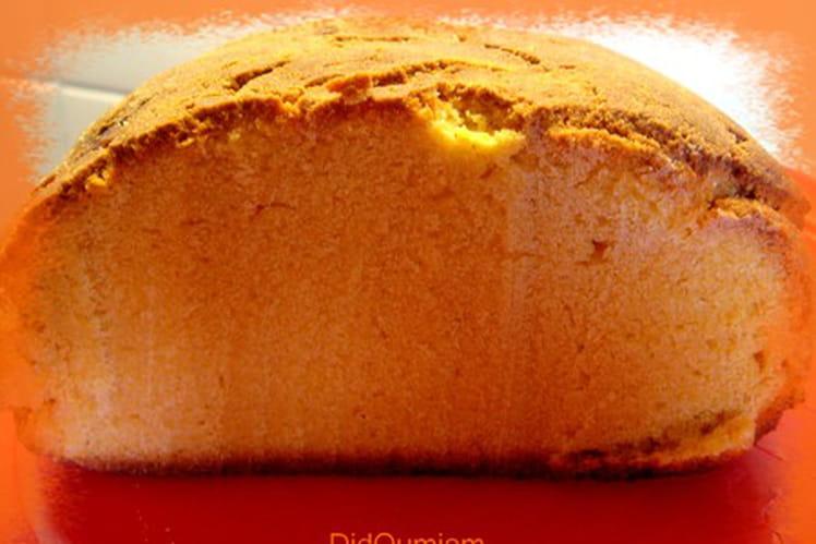 Pain sucré à la farine de maïs